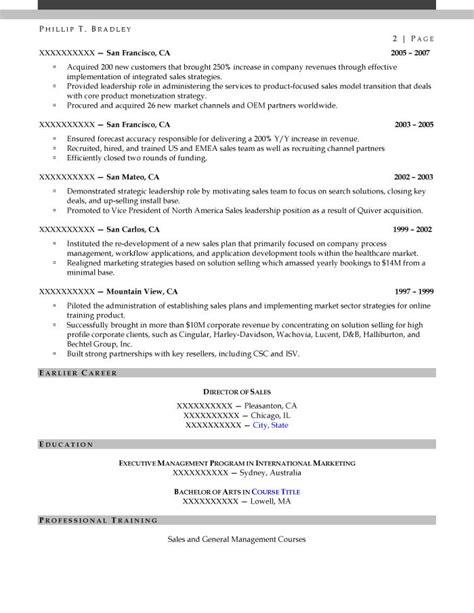 Director Of Development Resume Sles by Executive Resume Sles Resume Prime