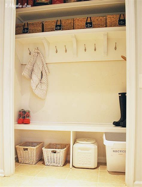 how to turn a closet into a mudroom closet mudroom