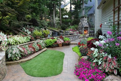 simple flower bed ideas raised beds for easy low maintenance backyard gardens