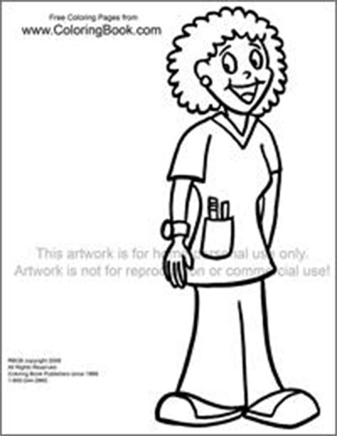 coloring pages   coloring pages nurse