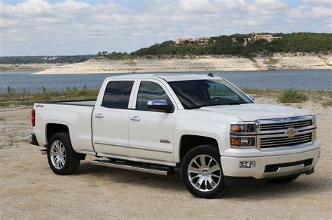 chevrolet silverado high country  gmc sierra denali    drive truck trend