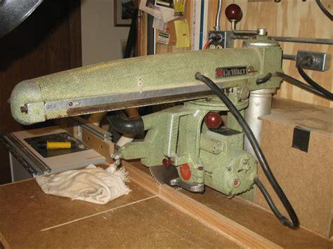 1957 Dewalt 10″ Radial Arm Saw (gw-i)