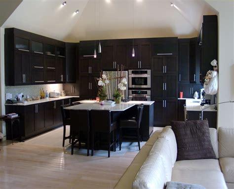 kitchen floor ideas with dark cabinets 1000 images about dark kitchen light floors on pinterest