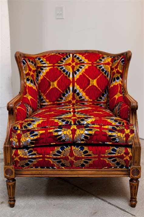 Fabric Upholstery Furniture by Print Fabric Upholstered Chair Wax