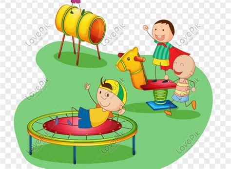 gambar anak anak sedang bermain
