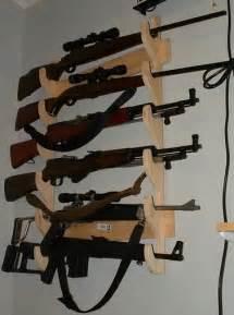 Locking Wall Gun Rack