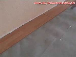 Laminat In Fliesenoptik Verlegen : laminat verlegen teil 1 youtube ~ Michelbontemps.com Haus und Dekorationen