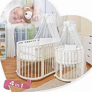 Babybett 4 In 1 : comfortbaby ovales kinderbett babybett 7 in 1 aus ~ Whattoseeinmadrid.com Haus und Dekorationen