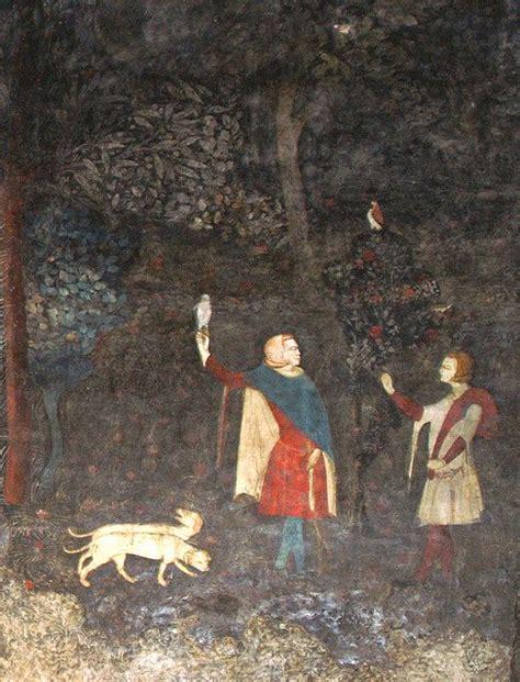 chambre des commerces avignon fresques de la chambre du cerf 1343 palais des papes