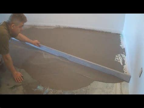 leveling  concrete floor  straight edge
