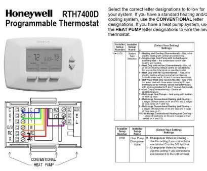 Popular Honeywell Thermostat Thd Wiring Diagram