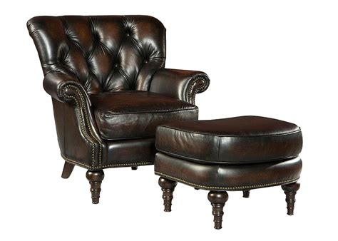 alessandro quot ship quot tufted leather accent chair