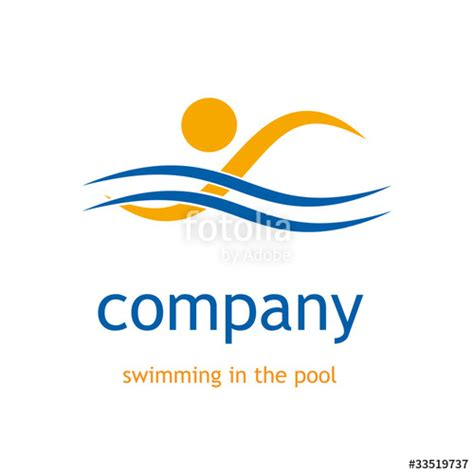"""""""logo Swimming In The Pool # Vector"""" Stock Image And"""