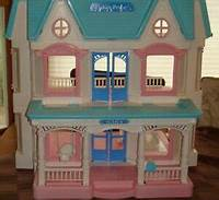 fisher price dream dollhouse 1993 Retired Fisher Price Loving Family 6364 Dream ...