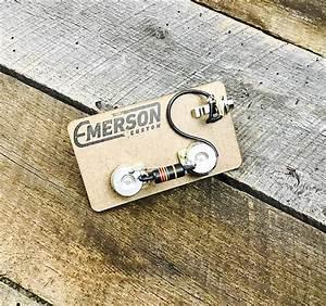 New  In Box Emerson Custom Lp Jr  Prewired Kit Free