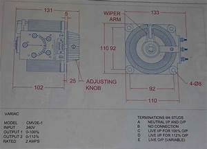 Variac Transformer Wiring Diagram