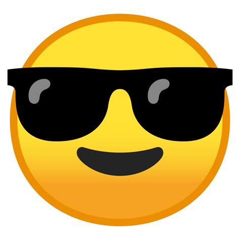 foto de File:Noto Emoji Pie 1f60e svg Wikimedia Commons