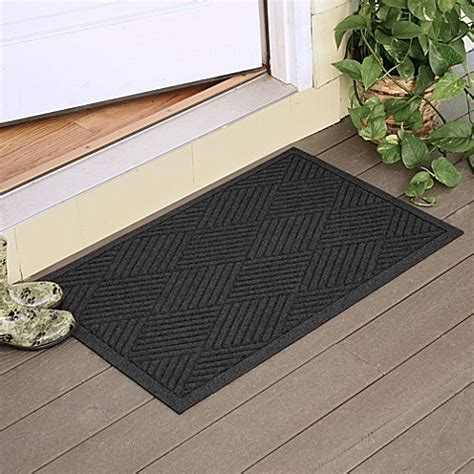 weather guard mats weather guard diamonds 23 inch x 35 inch door mat bed