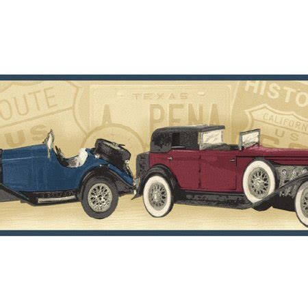 Antique Car Wallpaper Borders by Kamisco Antique Cars 626