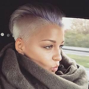 Sidecut Frauen Kurzhaar : die besten 25 undercut frisuren frauen ideen auf pinterest undercut hairstyle frauen ~ Frokenaadalensverden.com Haus und Dekorationen