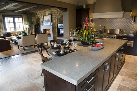 kitchen with l shaped island 64 deluxe custom kitchen island designs beautiful