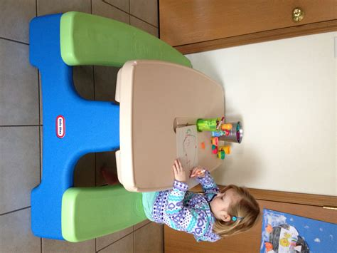 Little Tikes Easy Store Picnic Table For Indoor & Outdoor