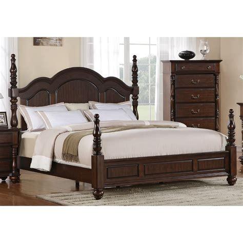 georgia brown queen bed