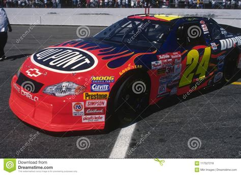 Jeff Gordon Nascar Race Car Driver. Editorial Stock Photo