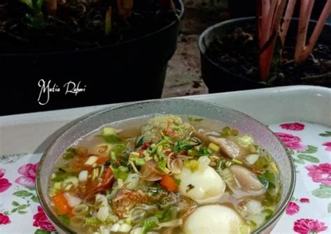 We support all android devices such as samsung, google, huawei, sony, vivo selecting the correct version will make the buku resep sayur & tumis app work better, faster, use less battery power. Resep Sayur sop bakso telur puyuh oleh Mutia Rahmi - Cookpad