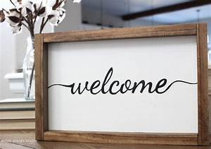 Say, Hello, To, Our, Welcome, Sign, Product, U2013, Welsh, Design, Studio