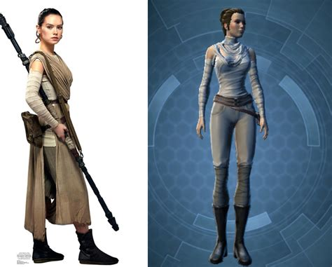 rey  swtor character customization  outfit