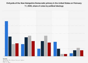 hampshire democratic primary exit polls share