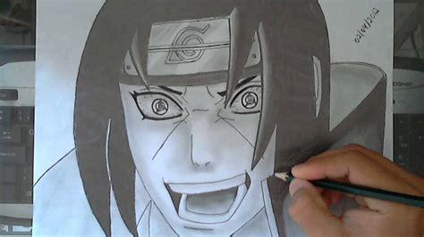 draw itachi mangekyou sharingan youtube