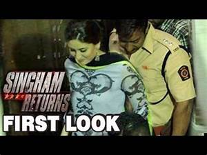 Singham Returns First Look ft Ajay Devgn and Kareena ...