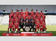 Der Kader des FC Bayern München 201718 Alle Infos zu den