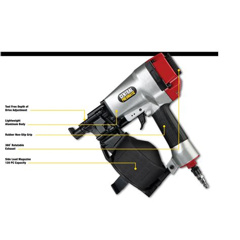 Harbor Freight Flooring Nailer Problems by 11 Coil Roofing Air Nailer