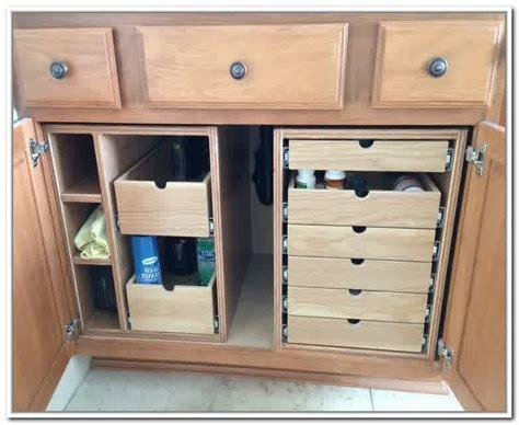 under sink drawers bathroom under bathroom sink organizer simple tips how to organize
