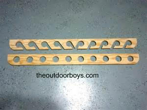 ceiling mounted fishing rod holder the outdoor boys