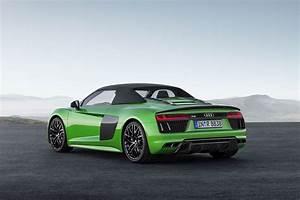 Audi R8 V10 Plus : 2018 audi r8 spyder v10 plus revealed in germany ~ Melissatoandfro.com Idées de Décoration