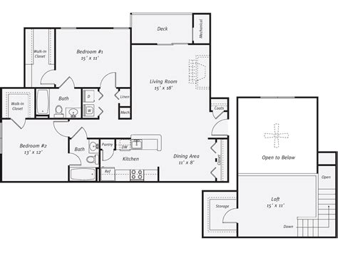 kitchen floor plans by size kitchen floor plans thefloors co 8074
