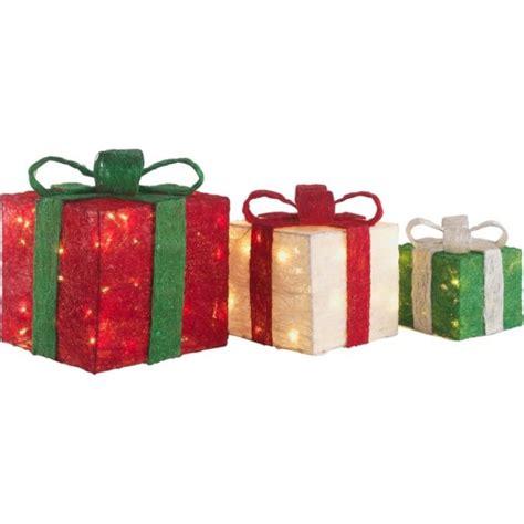 set   light  christmas gift boxes christmas novelty