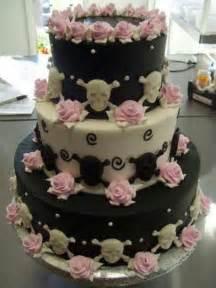 skull wedding cakes skull wedding cake rocker vintage 2016