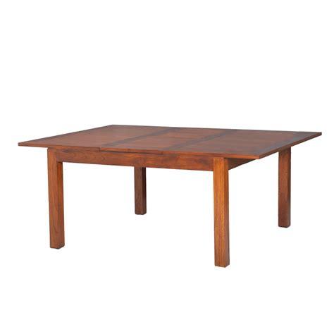 table 224 manger carr 233 e rallonge 140 50 x 140 cm mindi dpi import