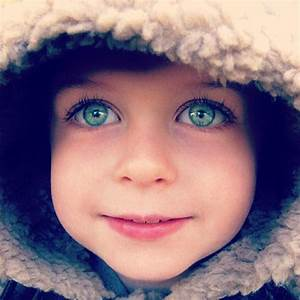 #rare eye color, baby blue-green | Beautiful People All ...