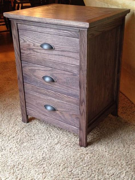 night stand  locking secret hidden drawer drawers