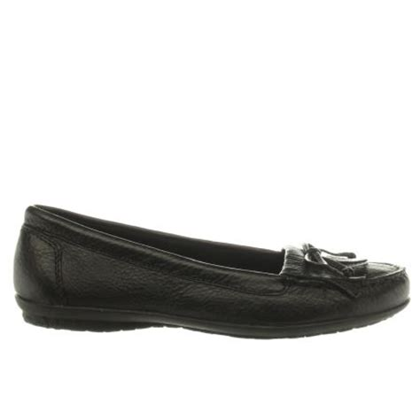 Hush Puppies Ceil Mocc Fringe by S Black Hush Puppies Ceil Mocc Fringe Flats Schuh