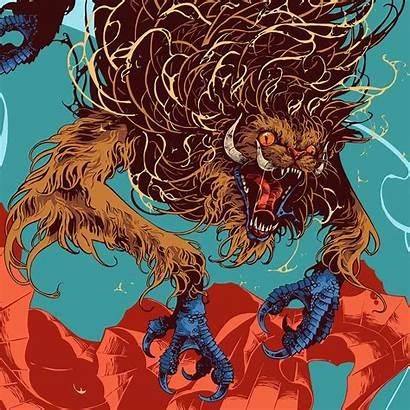 Fantastic Beasts Creatures Magical Behance Habilidades Animales