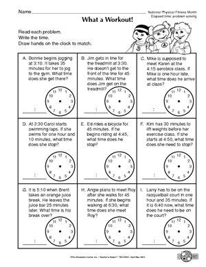 telling time word problems worksheets delibertad