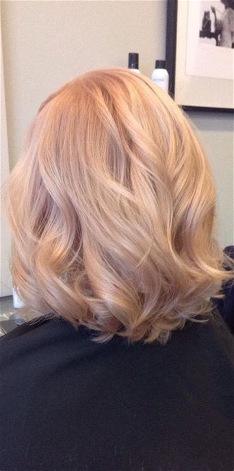 champagne blonde hair ideas  pinterest