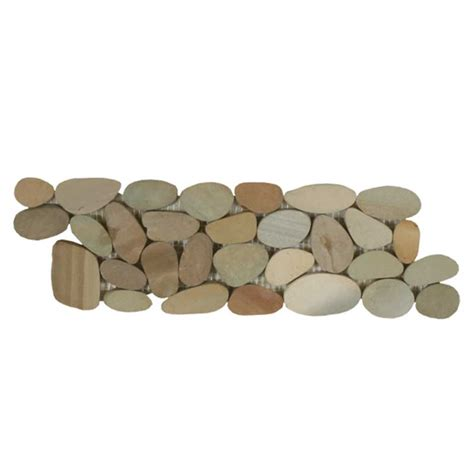 sliced pebble tile border sliced pebble border olive maniscalco